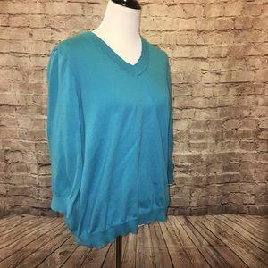 Anne Klein Sport Sweaters - Anne Klein Sport Long Sleeve Sweater